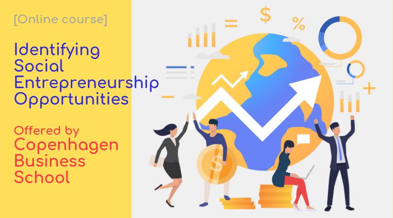 Online Course] Identifying Social Entrepreneurship
